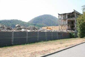 Hidromecanica a fost demolată pe jumătate