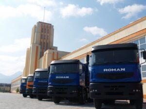 Roman Braşov a vândut doar 12 autocamioane