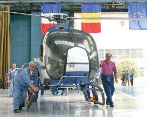 Eurocopter România livrează primul elicopter modernizat Forţelor Aeriene Britanice