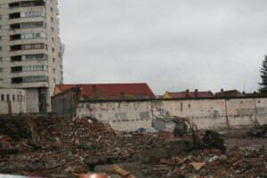 Resturile Hidromecanica au fost luate din Centrul Civic al Braşovului