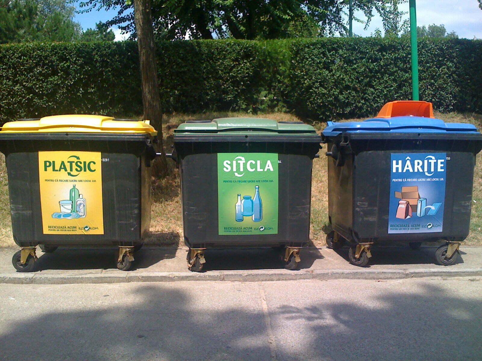 Braşovul, oraşul reciclării: peste o mie de tone de hârtie şi 1.300 tone de plastic, colectate selectiv