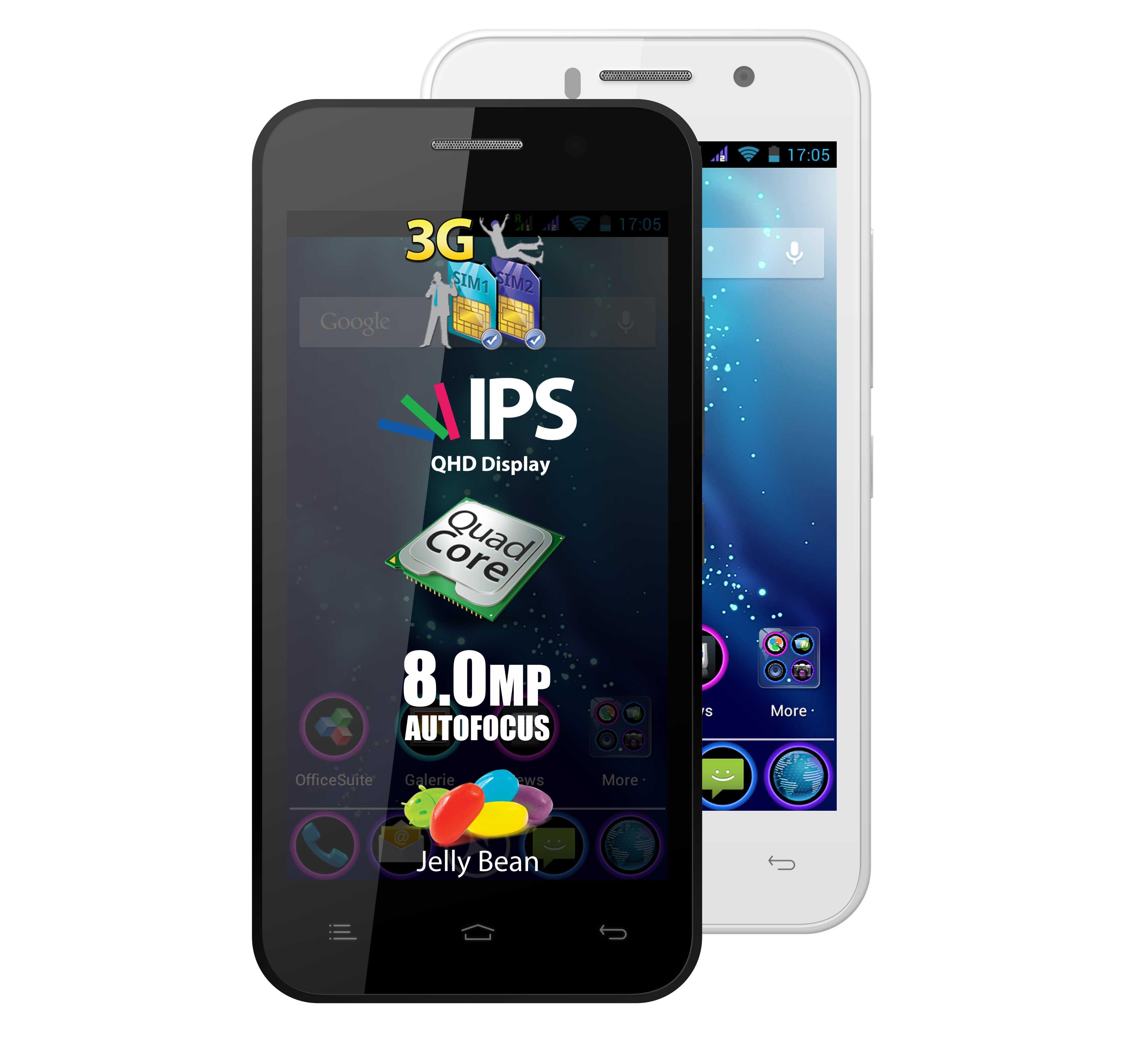 Braşovenii de la Allview au lansat smartphone-ul P5 Quad
