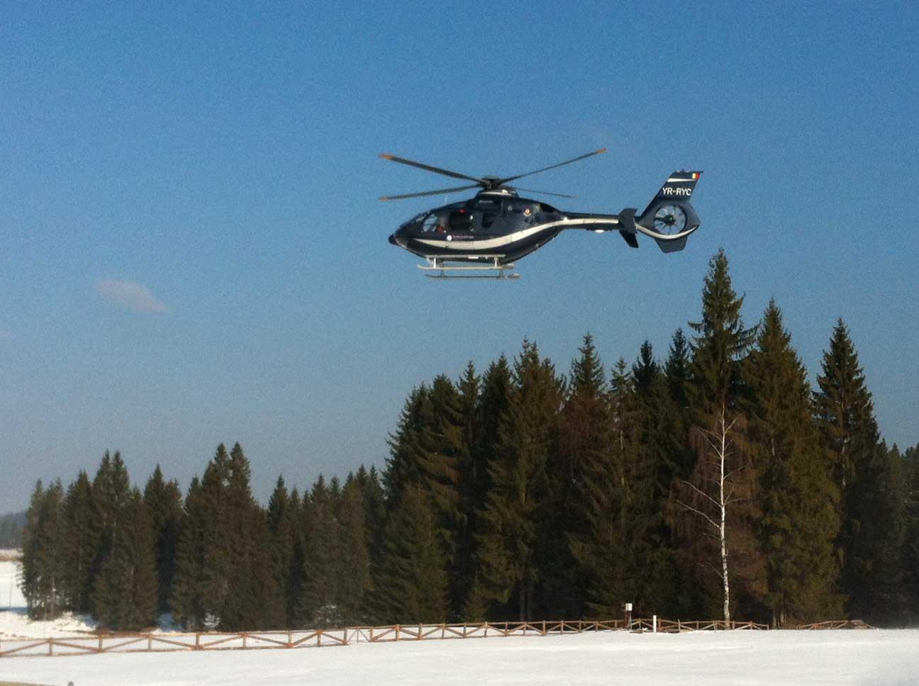 Eurocopter România a asigurat transportul Nadiei Comăneci şi al şefilor CIO la FOTE