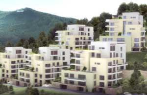 Insolvenţa a înjumătăţit valoarea apartamentelor din Bellevue Residence