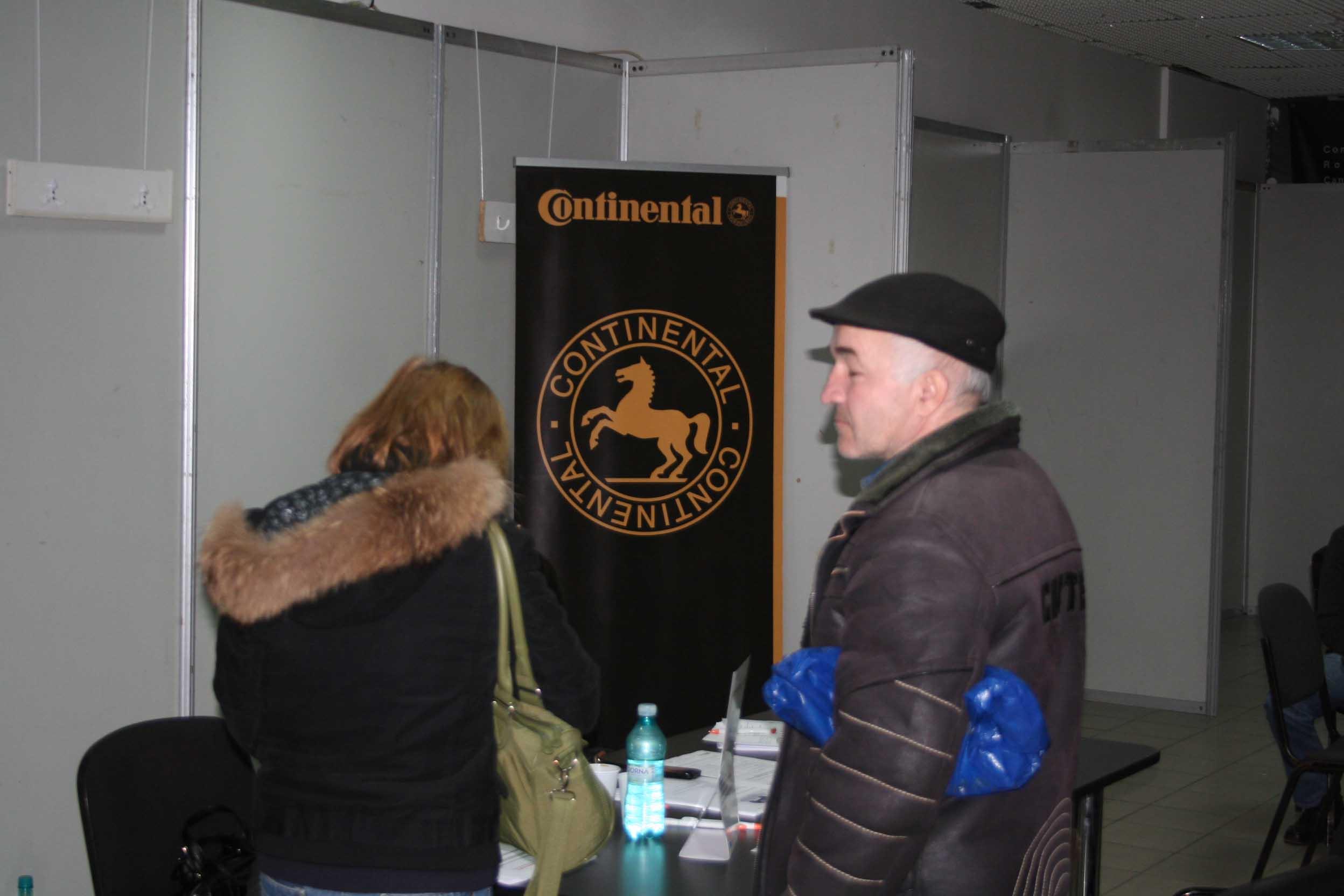 Continental a început recrutările la Braşov