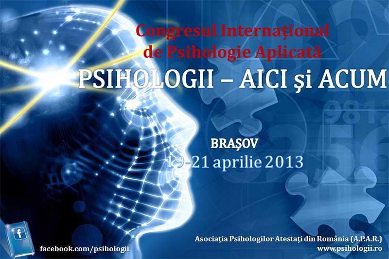 200 de psihologi din toată ţara sunt aşteptaţi la Braşov între 19 şi 21 aprilie