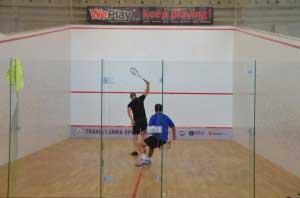 Squash în Piaţa Sfatului, în weekend