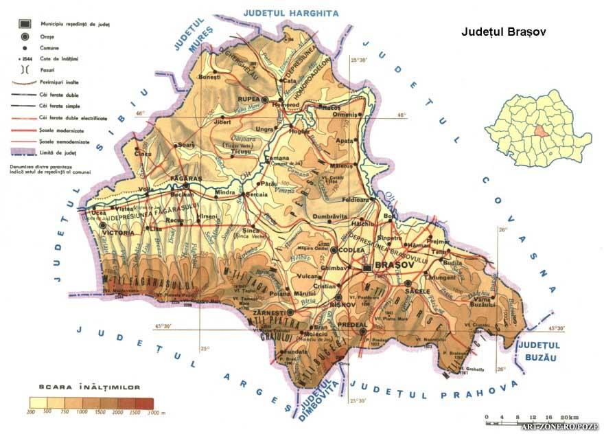 Planul de amenajare a județului va fi refăcut. Brașovenii pot trimite propuneri cu privire la stabilirea unor noi zone de dezvoltare sau a unor restricții în ceea ce privește apariția unor noi construcții