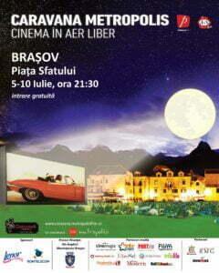 Filme premiate în aer liber. Piaţa Sfatului se transformă în cinematograf între 5 şi 10 iulie