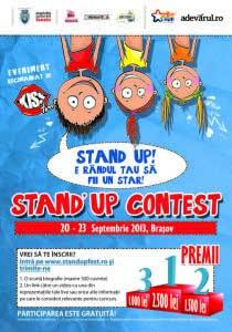 Au început înscrierile pentru primul festival de stand-up comedy din România