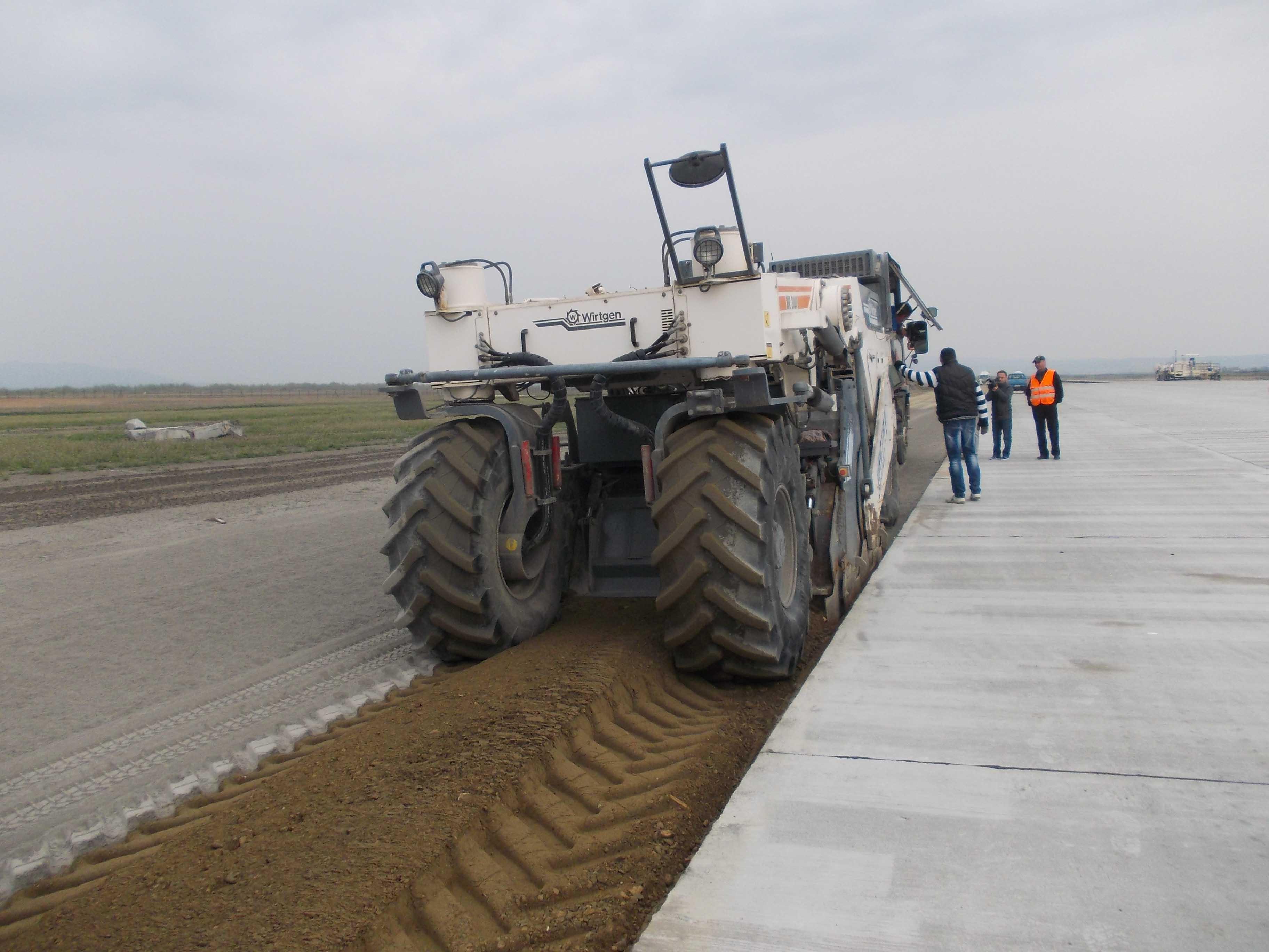 Încă 4,5 milioane de lei, în contul Aeroportului Ghimbav, pentru finalizarea pistei