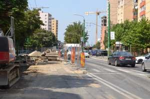Obstacole în calea lucrărilor de pe Griviţei. Şantierul se va închide în următoarele două săptămâni
