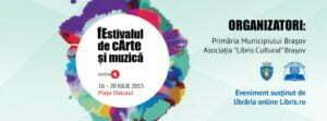"""""""fEstivalul de cArte și muzică"""" – între 16 și 20 iulie, în Piața Sfatului"""