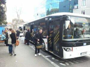 Statie RAT autobuze transport RAT 1
