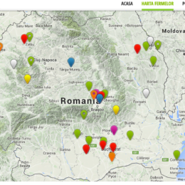 Harta fermelor, care te ajută să mănânci sănătos direct de la producători, a fost conturată la Brașov