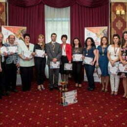 """Elevii făgărășeni au câștigat trofeul pentru """"generația în mișcare"""". Liceenii din alte 12 localități ale Brașovului au promovat un stil de viață echilibrat"""