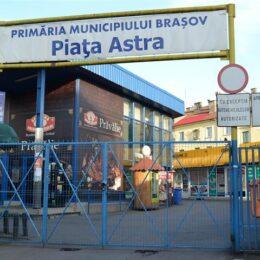Piețele Astra și Dacia vor fi închise temporar, pe o perioadă de două zile, în vederea efectuării de reparații