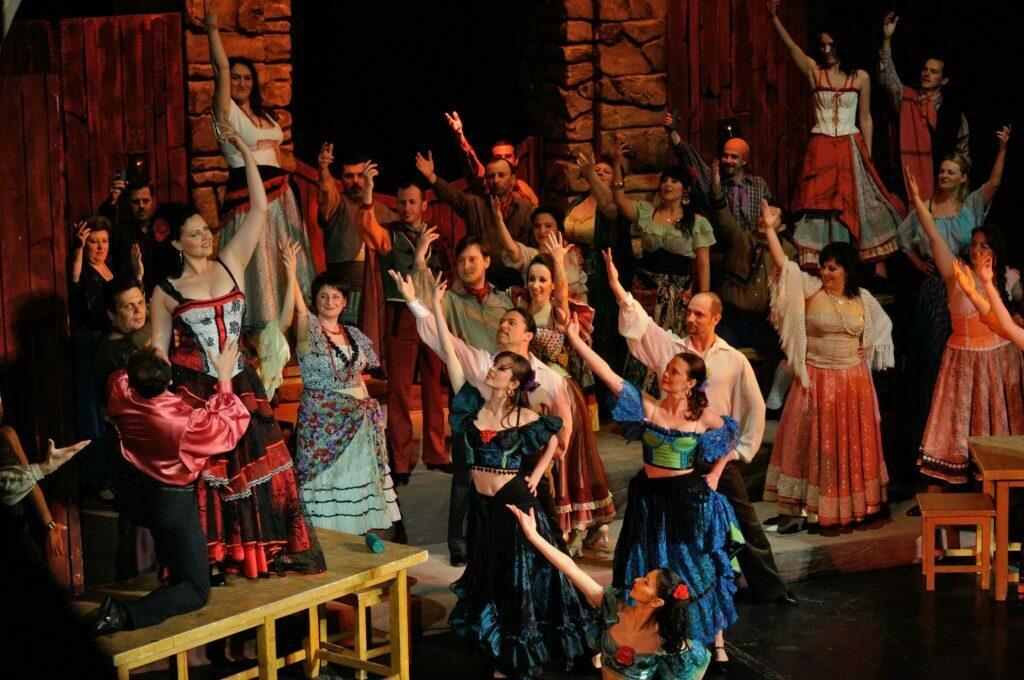 """Carmen"" de G. Bizet Opera Brașov"
