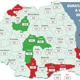 Brașovenii, pe locul patru în topul speranței de viață. Media este de 76,6 ani, peste Sibiu, dar sub Cluj