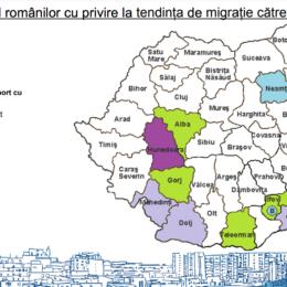 Sondaj al Băncii Mondiale: o treime dintre români ar dori să se mute la Brașov. Cei mai interesați să vină la poalele Tâmpei sunt cei din Hunedoara, dar și din Sudul țării