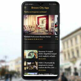 Brașov City App, o aplicație pentru localnici și turiști, a fost lansată astăzi