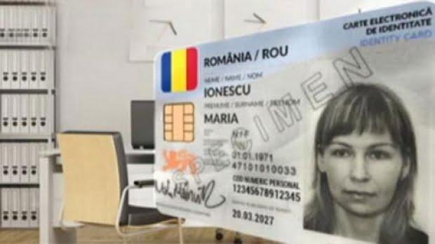 buletin biometric cu cip carte de identitate
