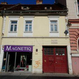 BNR scoate la licitație Casa George Barițiu de pe Republicii. Imobilul este evaluat la aproape 550.000 de euro