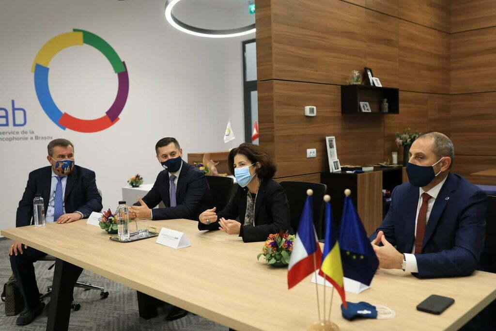 Brașovul are un club de afaceri francofon, condus de omul care a dezvoltat Coresi Shopping Resort
