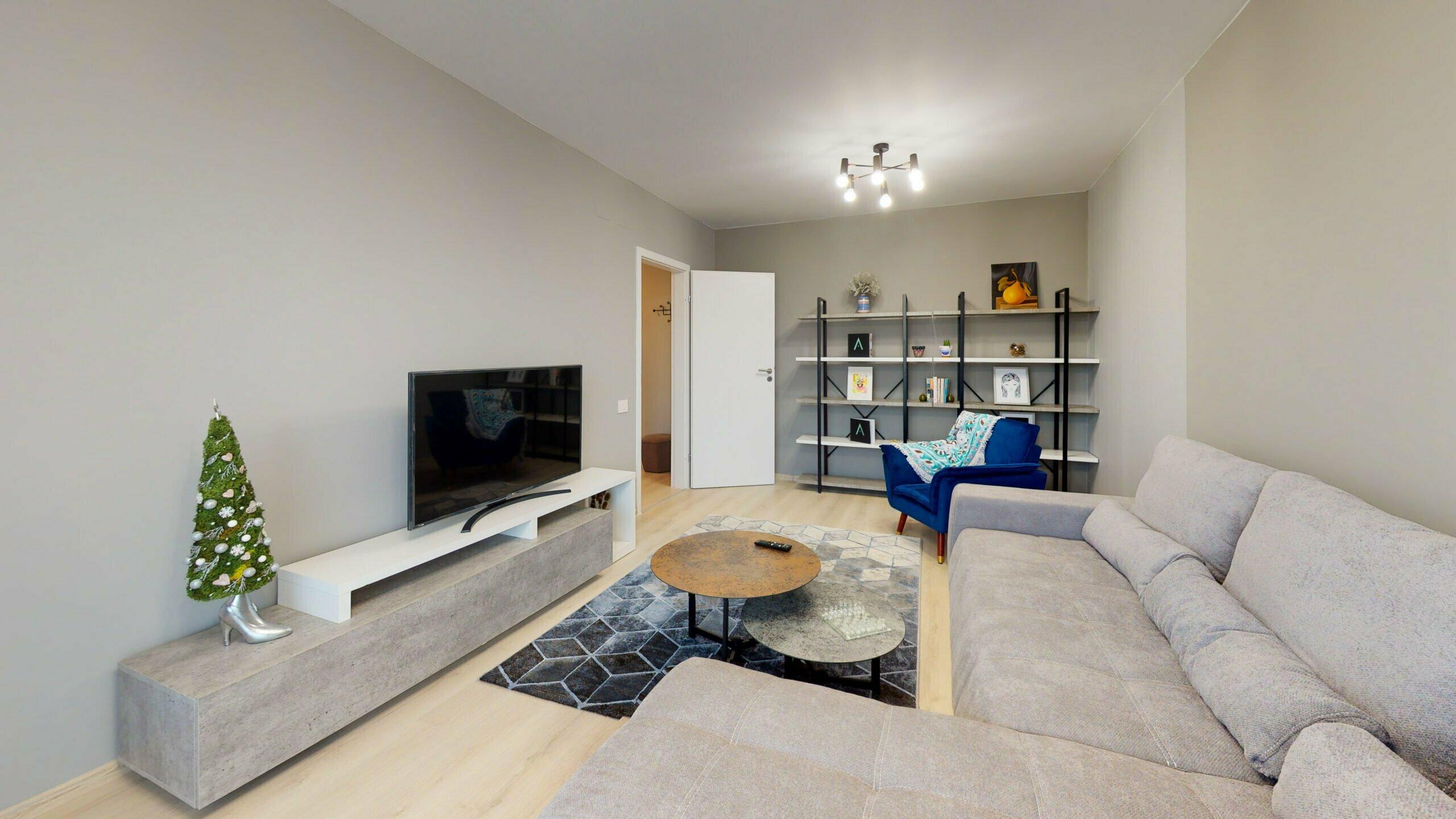 alphaville apartament mobilat bloc