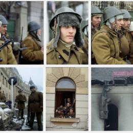 """FOTO Revoluția """"în culori"""". Imagini spectaculoase de la evenimentele din 1989 de la Brașov, publicate recent pe un site de fotografie"""