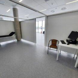 FOTO Cum arată centrul de vaccinare de la CATTIA. Autoritățile l-au inspectat