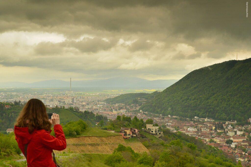 Panorama Brașov, Belvedere, drumul Poienii