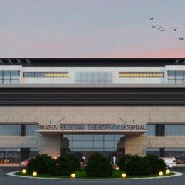"""Noul spital al Brașovului a ajuns la """"studiul pământului"""".  În două luni, vor fi definitivate documentațiile prin care se stabilește capacitatea solului de a susține această construcție de mari dimensiuni"""