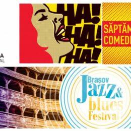 Dracula Film Festival, Săptămâna Comediei și Brașov Jazz & Blues Festival, trei evenimente culturale care vor avea loc la Brașov în 2021