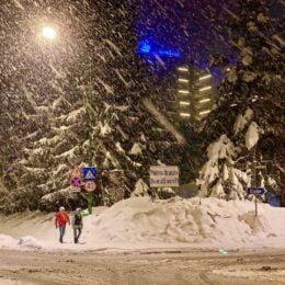 FOTO Feerie de iarnă, în luna martie, în Poiana Brașov