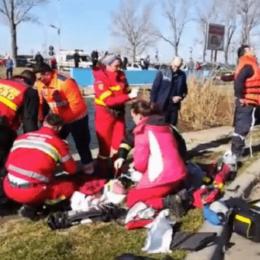 Inima unei fetițe de doi ani care s-a înecat într-un pârâu și a fost declarată decedată, după o oră de resuscitare, a început să bată