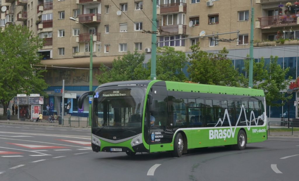 Autobuz electric RATBV, Onix
