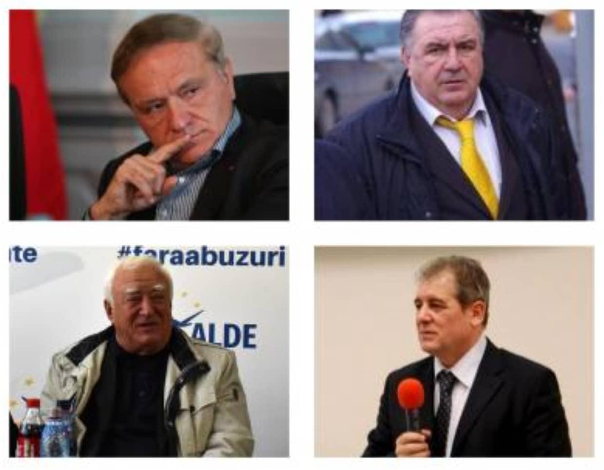 Bran, Căncescu, Cismaru și Stănescu, foști lideri politici ai Brașovului, au dat în judecată Parlamentul să își recupereze pensiile speciale