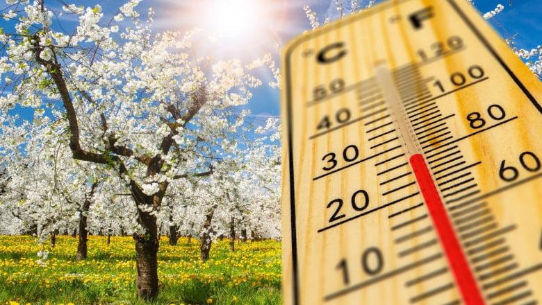 De Paște, se anunță vreme mai rece decât normalul perioadei. Prognoza meteo până în data de 10 mai