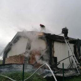 Incendiu la Hotelul Wolkendorf din comuna Vulcan