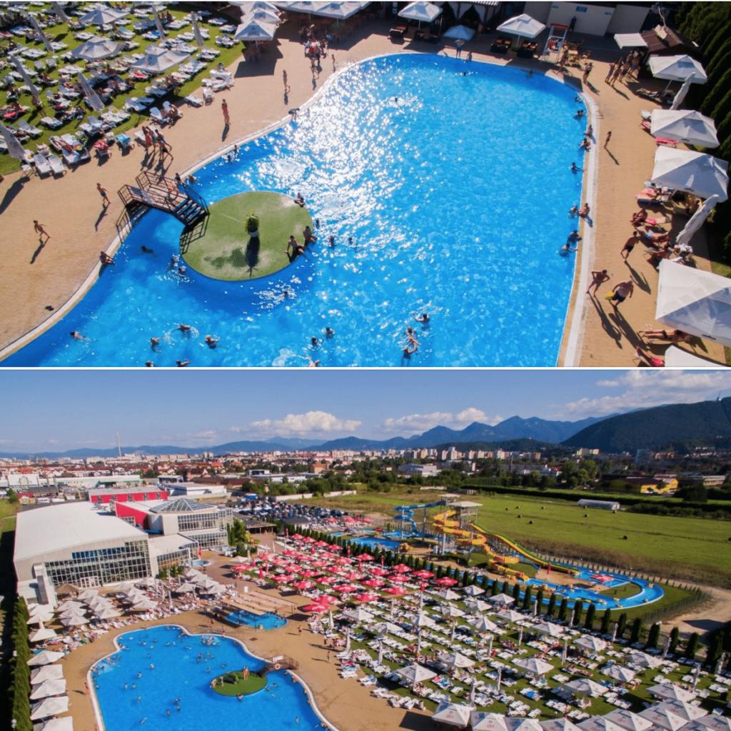 Paradisul Acvatic își deschide piscinele și terasele exterioare pe 25 mai