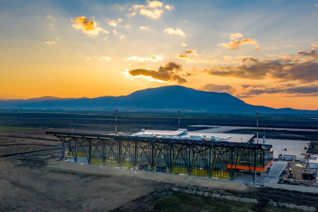 Terminal Aeroport Ghimbav lucrari amenajare