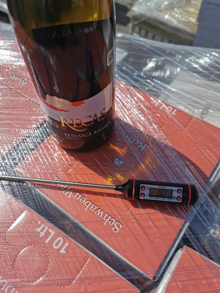 Băuturi lăsate în soare Brașov, control Protecția Consumatorilor