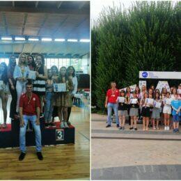Tinerii șahiști brașoveni au obținut 17 medalii la Campionatele Naționale, dintre care șapte de aur