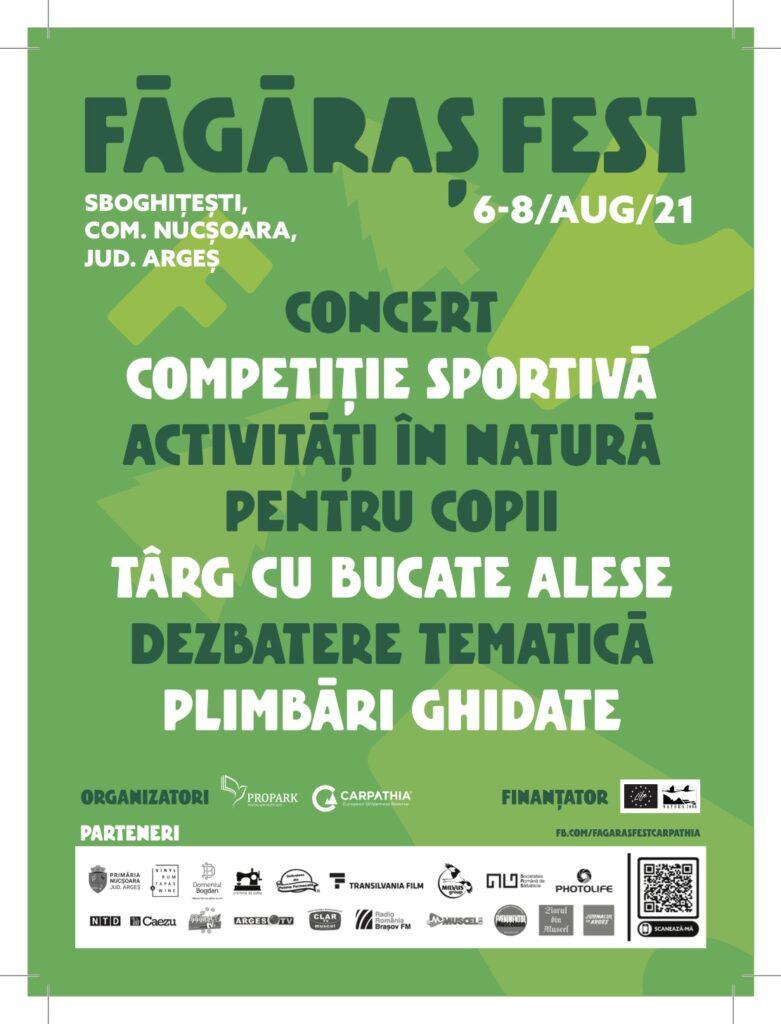 Făgăraș Fest 2021: Festivalul Munților Făgăraș. În beneficiul oamenilor și al naturii