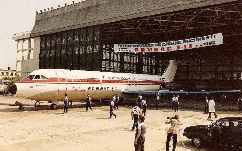 Avionul dictatorului Nicolae Ceaușescu, singurul de pasageri produs în România.