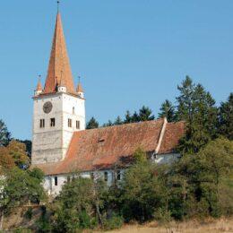 Pictura veche de 800 de ani și temnița anti-divorț, atracțiile uneia dintre cele mai vechi fortificații din Transilvania, care ar urma să fie redată circuitului turistic, după ce au început lucrările de restaurare