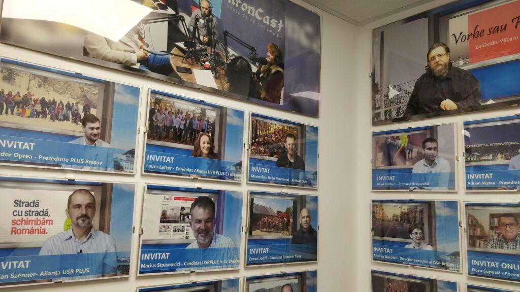 Panou invitați Studio virtual KronCast Media, vocea brașovenilor