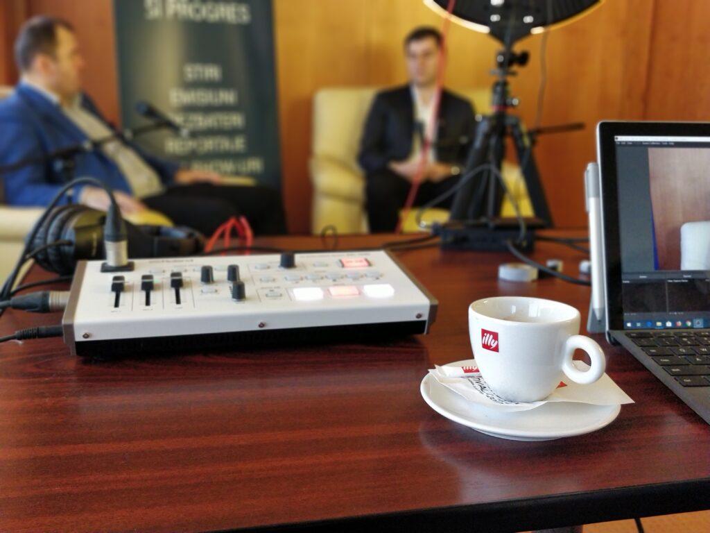 Studio virtual KronCast Media, vocea brașovenilor