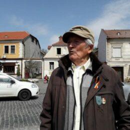 Aurel Deteșan, unul dintre cei mai vârstnici veterani de război din România, sărbătorit azi într-un azil din Sânpetru